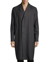 rag & bone Raymond Raw Edge Coat Gray