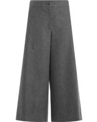 Wool wide leg culottes medium 799491