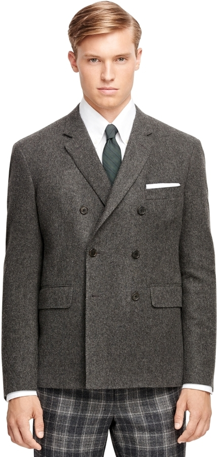 Brooks Brothers Cashmere Double Breasted Sport Coat | Where to buy ...