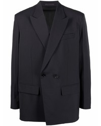 Valentino Double Breasted Wool Blazer