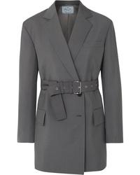 Prada Mohair And Wool Blend Blazer