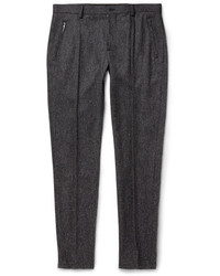 Charcoal Wool Dress Pants