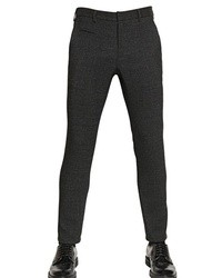 Emporio Armani 185cm Wool Jersey Trousers