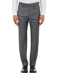 Incotex B Body Classic Fit Wool Trousers
