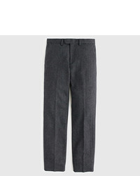J.Crew Bowery Classic Pant In Herringbone Wool