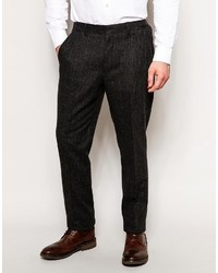 Asos Brand Slim Fit Suit Pants In Dogstooth