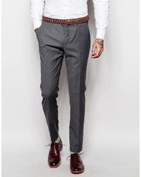 Asos Brand Wedding Skinny Suit Pants In Tonic