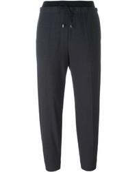 Brunello Cucinelli Drawstring Straight Leg Trousers