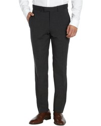 Kenneth Cole New York Charcoal Flat Front Pants