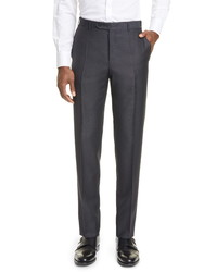 Canali Classic Fit Wool Mohair Pants