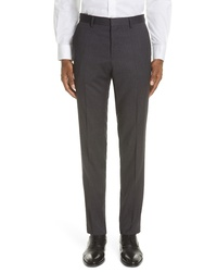 BOSS Genesis Solid Wool Trousers