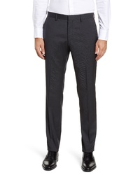 BOSS Gido Solid Wool Trousers