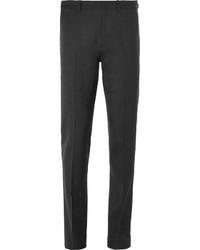 Acne Studios Grey Brobyn Slim Fit Wool Suit Trousers