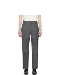 Gucci Grey Cuffed Trousers