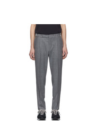 Z Zegna Grey Drawstring Trousers