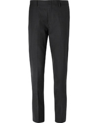 J.Crew Grey Ludlow Slim Fit Wool Suit Trousers