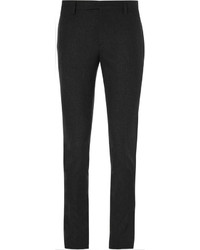Saint Laurent Grey Slim Fit Wool And Cashmere Blend Suit Trousers