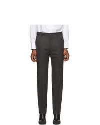 Random Identities Grey Wool Classic Trousers