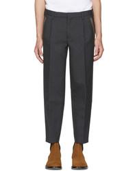 Kolor Grey Wool Pleated Trousers