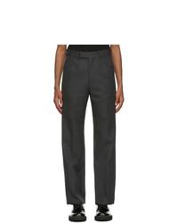 Marni Grey Wool Trousers