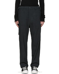 Miharayasuhiro Grey Wool Trousers