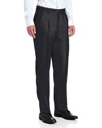 Louis Raphael Louis Raphl Luxe 100% Wool Pleated Hidden Extension Dress Pant