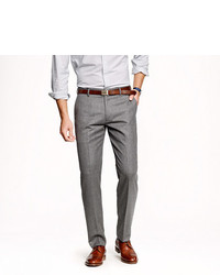 Ludlow suit pant in heathered italian wool flannel medium 575553