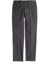 J.Crew Ludlow Suit Pant In Italian Tick Weave Wool Cotton