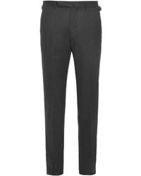 Ermenegildo Zegna Mid Rise Slim Leg Wool Trousers