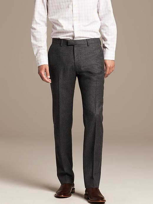 85c4b873b7f4 ... Banana Republic Modern Slim Fit Charcoal Wool Suit Trouser ...