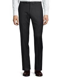 Gucci Monaco Wool Trouser Pants Charcoal
