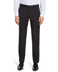 Zanella Parker Solid Wool Trousers