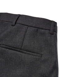 Acne Studios Piano Tapered Pleated Worsted Wool Trousers