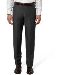 Brooks Brothers Regent Fit Plain Front Wool And Mohair Trousers