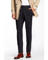 Kroon Sam Charcoal Stripe Wool Blend Pant