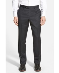 Shop flat front wool trousers medium 719121