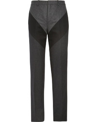 Givenchy Slim Fit Panelled Wool Trousers