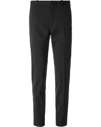 Jil Sander Slim Fit Stretch Wool Blend Trousers