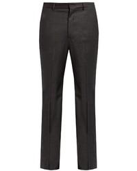 Bottega Veneta Slim Fit Wool Blend Flannel Trousers