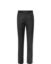 Ermenegildo Zegna Slim Fit Wool Felt Trousers