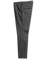 H&M Slim Fit Wool Suit Pants