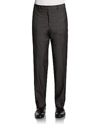 Calvin Klein Straight Leg Woolen Trousers