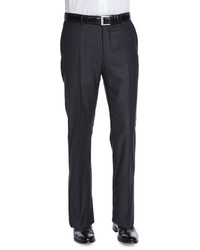 Super 150s Woolcashmere Trousers Charcoal
