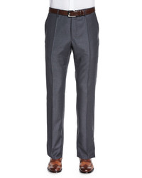 Super 150s Woolcashmere Trousers Gray