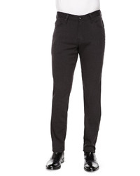 AG Adriano Goldschmied The Graduate Five Pocket Pants Charcoal