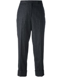 Thom browne classic backstrap trouser in wool flannel medium 788358