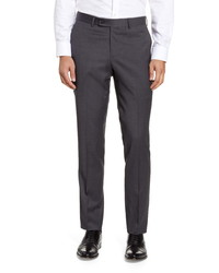 Nordstrom Men's Shop Trim Fit Wool Blend Dress Pants