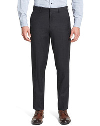 Wallin Bros Wool Flannel Flat Front Trousers