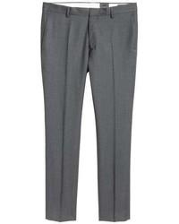 H&M Wool Suit Pants Slim Fit
