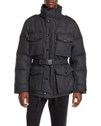 Charcoal Wool Field Jacket